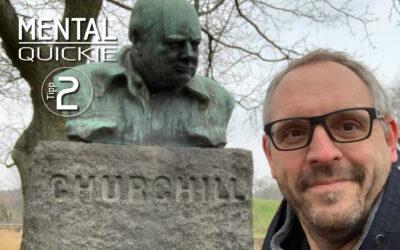 Aufgeben? – Der Winston-Churchill-Tag